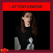 ATTENTIONROW(アテンションロー) Tシャツ・カットソー [ATTENTIONROW] 21S4D003 After Image Overfit Tee/追跡付