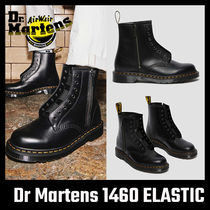 【Dr Martens】 1460 ELASTIC SMOOTH LEATHER LACE UP BOOTS