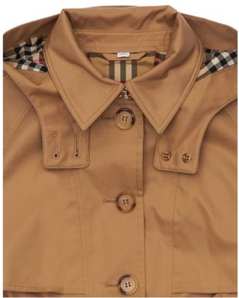 Burberry キッズアウター 大人OK★Burberry★2021AW★チェック裏地トレンチコート★12Y(2)