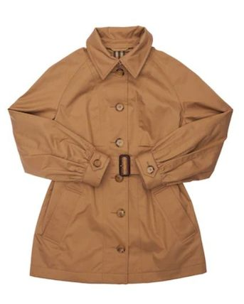 Burberry キッズアウター 大人OK★Burberry★2021AW★チェック裏地トレンチコート★12Y(3)