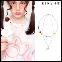 ●KIRSH● CHERRY BEADS NECKLACE ビーズネックレス 可愛い