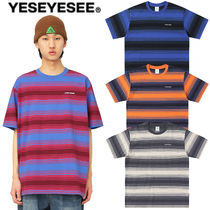YESEYESEE(イェスアイシー) Tシャツ・カットソー ★YESEYESEE★送料込み★正規品★韓国 Tシャツ Y.E.S Stripe Tee