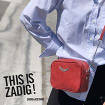 ZADIG & VOLTAIRE(ザディグ エ ヴォルテール) ショルダーバッグ・ポシェット 即発★Zadig and Voltaire XS Boxy Crush Bag SHAP2023F