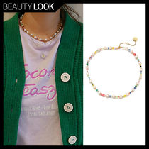 VINTAGE HOLLYWOOD(ヴィンテージハリウッド) ネックレス・ペンダント 【VINTAGE HOLLYWOOD】BTS着用★Pearl n Crystal Beads Necklace