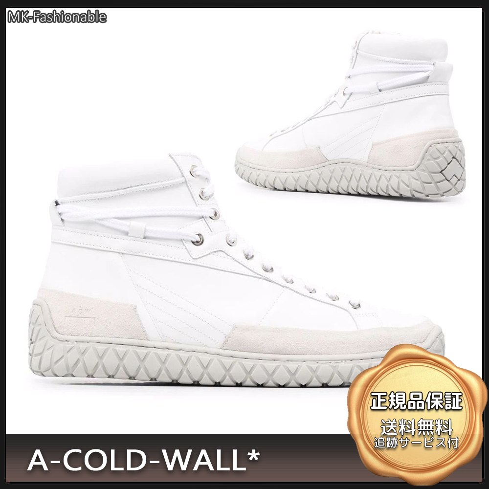 [21SS]送料込み◆A-COLD-WALL Granulite ハイトップ スニーカー (A-COLD-WALL/スニーカー) 69406123