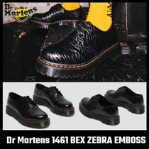 【Dr Martens】1461 BEX ZEBRA EMBOSS LEATHER OXFORD SHOES