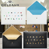 DELVAUX(デルボー) クラッチバッグ ◆完売前に◆DELVAUX◆Magritte Alphabet Message L Pouch◆