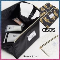 ASOS(エイソス) メイクポーチ ASOS select The Flat Lay Co. アニマル柄 メイクアップボックス