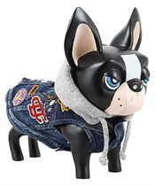 D SQUARED2(ディースクエアード) ペット(犬猫)服 Dsquared2 VEP0005 10102239 D2 x POLDO HOODED PATCH Dog vest