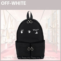 Off-White★ロゴ プリント バックパック