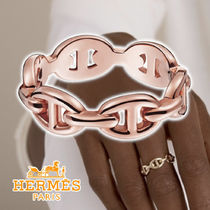 HERMES 21SS Chaine d'Ancre Enchainee ring Rose gold リング