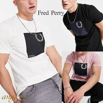 FRED PERRY(フレッドペリー) Tシャツ・カットソー 海外限定【Fred Perry】ローレルリース グラフィック Tシャツ