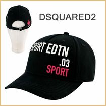 D SQUARED2(ディースクエアード) 帽子 【DSQUARED2】キッズ SPORT EDTN 03 キャップ