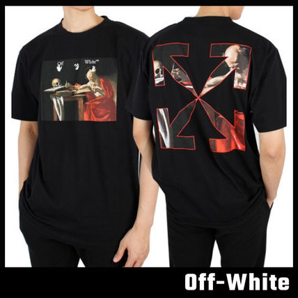【Off-White】Caravaggio Painting S/S T-Shirt オフホワイト