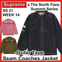 Supreme X TNF Summit Series Outer Tape Seam Coaches Jacket