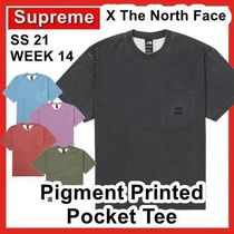Supreme The North Face Pigment Printed Pocket Tee SS 21