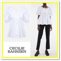 ★【CECILIE BAHNSEN】21SS ♪ Hope ホワイトコットンブラウス