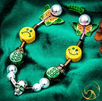 SALUTE(サルーテ) ネックレス・チョーカー ●SALUTE● EVAE SMILEY PEARL NECKLACE