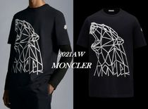MONCLER(モンクレール) Tシャツ・カットソー 21/22AW新作【MONCLER】3Dシロクマプリント&袖ロゴTシャツ