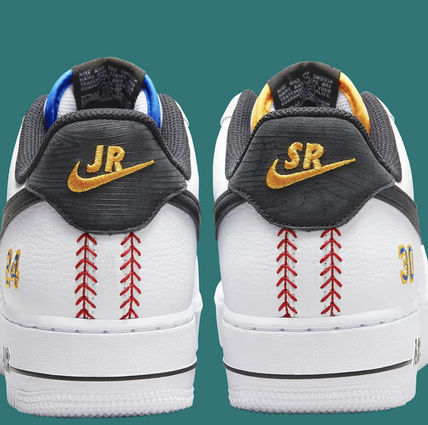"""Nike スニーカー 【記念モデル】NIKE AIR FORCE 1 LOW★""""Ken Griffey Jr. And Sr""""(10)"""