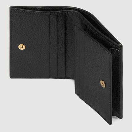 GUCCI 折りたたみ財布 累積売上総額第1位【GUCCI★グッチ】CARD CASE WALLET(15)