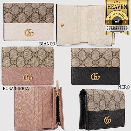 GUCCI 折りたたみ財布 累積売上総額第1位【GUCCI★グッチ】CARD CASE WALLET