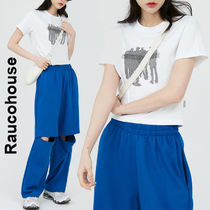 Raucohouse(ラウコハウス)★ Chessboard Cropped T-Shirt