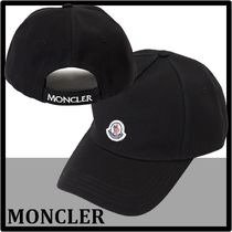 MONCLER(モンクレール) キャップ ★関税込★MONCLER★ロゴパッチ ベースボール キャッ.プ★正規品