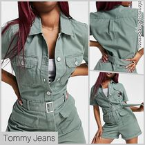 《Tommy Jeans》 ★ショートボイラースーツ★【送料込】