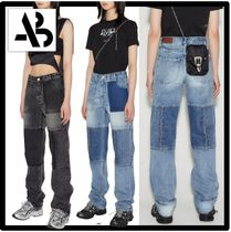 ANDERSSON BELL(アンダースンベル) デニム・ジーパン ☆関税込☆ANDERSSON BELL★UNISEX REMADE STRAIGHT-LEG JEAN.S