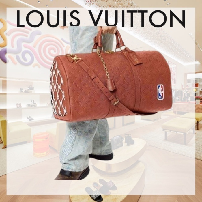 【21FW】ルイヴィトンNBA Leather Keepol Bandolier 55 M57973 (Louis Vuitton/バッグ) M57973