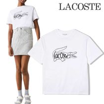 LACOSTE(ラコステ) Tシャツ・カットソー 《LACOSTE》大人気 レディース トップス 国内発送&関税込