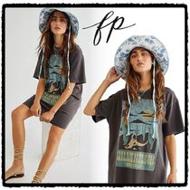 ☆Free People☆フリーピープル☆Willie Nelson Tシャツワンピ
