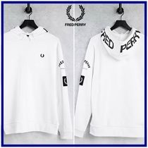 ☆Fred Perry☆グラフィックリラックスフィットパーカー White