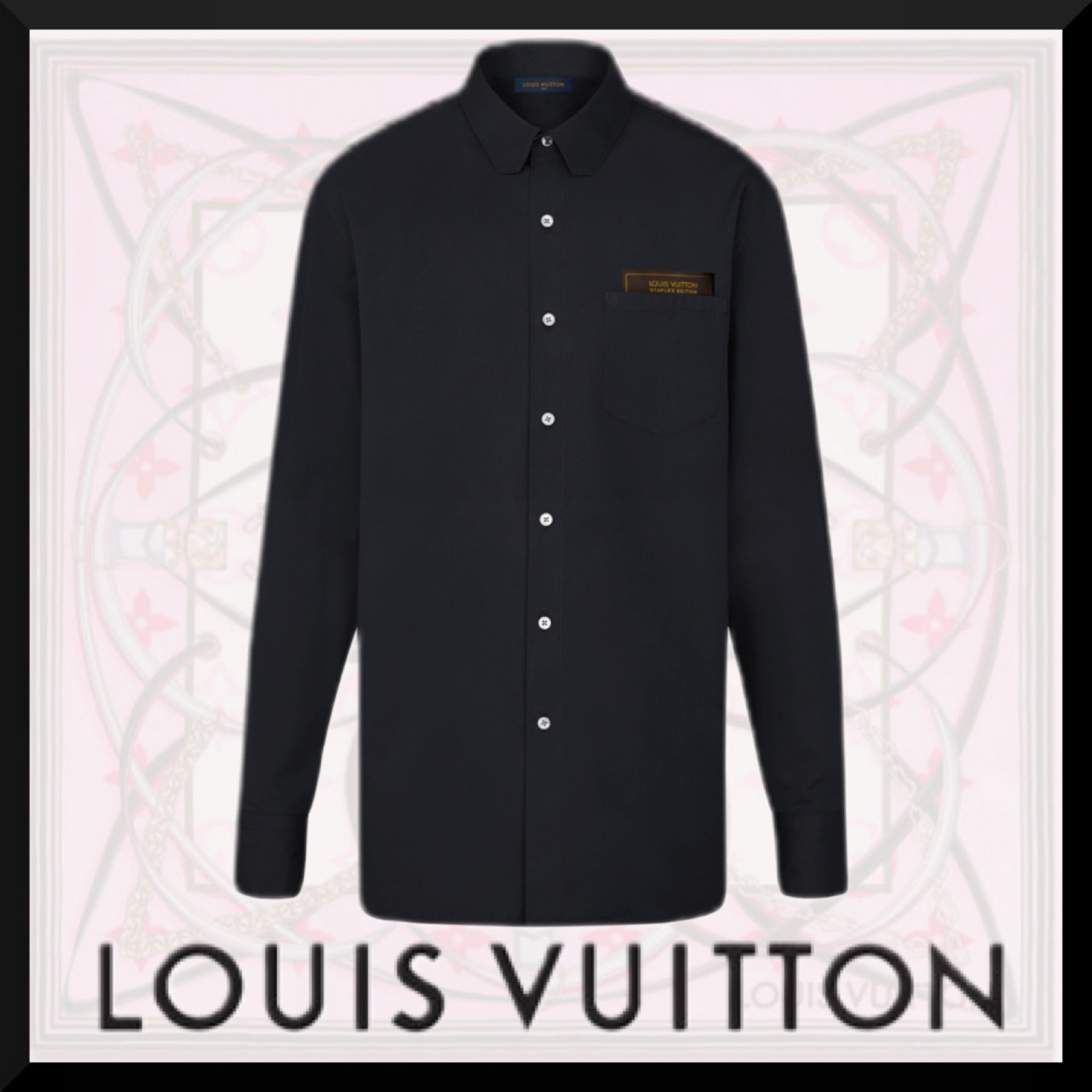 ss 新作 大人気 LouisVuitton DNAシャツ モダン トップス (Louis Vuitton/シャツ) 1A5NY9