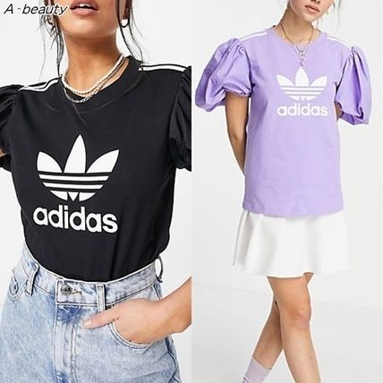 adidas☆Dry Clean Only コラボ パフスリーブ Tシャツ