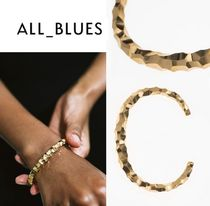 All Blues◆Snake Thick & Carved ブレスレット◆ゴールド