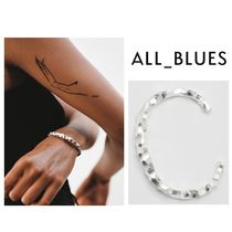 All Blues◆Snake Thick & Carved ブレスレット◆シルバー