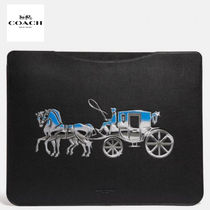 NEW!! COACH タブレット スリーブ  Horse And Carriage