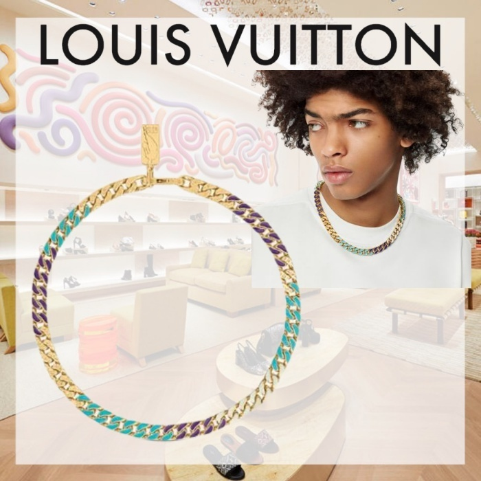 21FW  ルイヴィトン LVXNBAチェーンリンク ネックレス (Louis Vuitton/ネックレス・チョーカー) MP3052