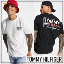 Tommy Jeans◆ NYスクリプト バックプリントTシャツ◆送料込