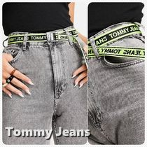 *Tommy Jeans* ロゴ テープ ベルト *送料込み