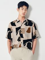 8 SECONDS(エイトセカンズ) シャツ 8seconds ivory color block shirts