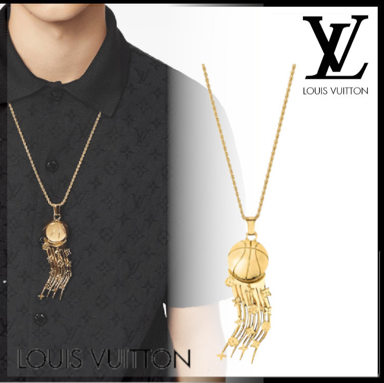 21FW☆Louis Vuitton ペンダント・フライングボール ネックレス (Louis Vuitton/ネックレス・チョーカー) 69593187