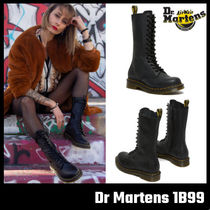 【Dr Martens】 1B99 VIRGINIA LEATHER KNEE HIGH BOOTS