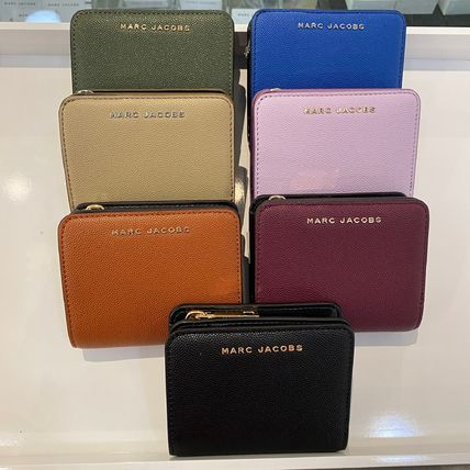 MARC JACOBS 折りたたみ財布 Marc Jacobs ロゴ ミニ コンパクト 2つ折り DAILY/デイリー