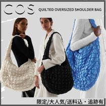 COS(コス) ショルダーバッグ・ポシェット COS☆限定/大人気/送料込・追跡有QUILTED OVERSIZED SHOULDERBAG