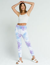 Free People Movement Work It Out Tie-Dye Joggers