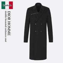 Dior Homme double-breasted cashmere coat