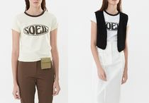 ◇TheOpen Product◇SOEIL FITTED T-SHIR◇